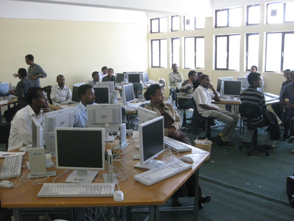 Thin client computer lab